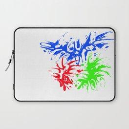 RGB Splash Laptop Sleeve