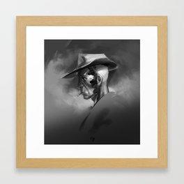 nick valentine — atmos Framed Art Print