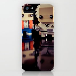 """Doc, where the heck is the delorean?!"" iPhone Case"