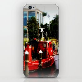 Little red tug Boat iPhone Skin