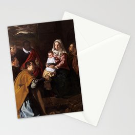 "Diego Velázquez ""The Adoration of the Magi"" Stationery Cards"
