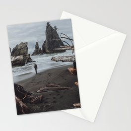 Olympic Coastline Stationery Cards