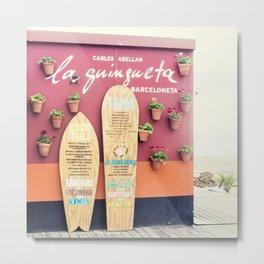 Surf Bar Metal Print