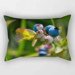 Wild Blueberries Rectangular Pillow