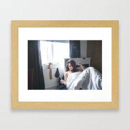 Horizontal Heads Framed Art Print