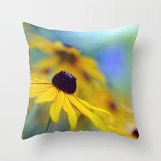Summer Radiance Throw Pillow