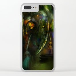 Sacrifices for Cyber Cyclops Clear iPhone Case