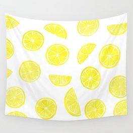 Lemon Slices Wall Tapestry