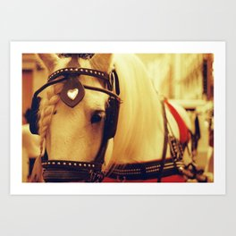 Boston Horse Art Print
