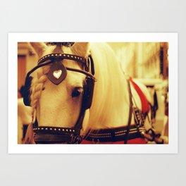 Boston Horse Art Print