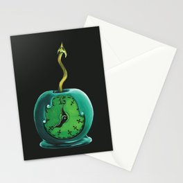 Haunted Mansion 13th Hour Clock Apple Stationery Cards