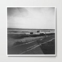 Coastal Metal Print