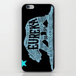 Eureka Bear — CA flag iPhone Skin