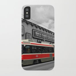 Red Rocket 4b iPhone Case