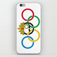 lord of the rings iPhone & iPod Skins featuring Lord of the Rings by Out of the Dust Designs