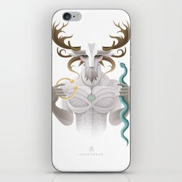 Cernunnos / Animal Gods iPhone Skin
