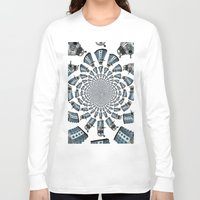 dalek Long Sleeve T-shirts featuring Dalek by Natasha Lake