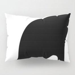 Halloween Black Cat Smooth Silhouette  Pillow Sham