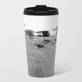 Impala in the grass Travel Mug