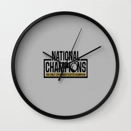 national champions ucf Wall Clock