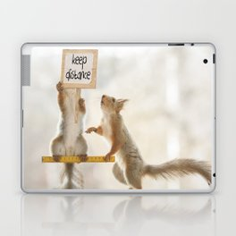 squirrels keeping distance Laptop & iPad Skin