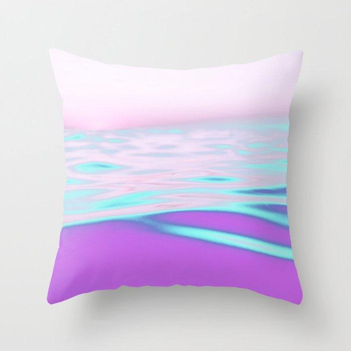Acid trip Throw Pillow