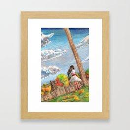 Last Day of Autumn Framed Art Print