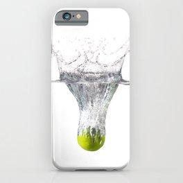 Lime splash iPhone Case