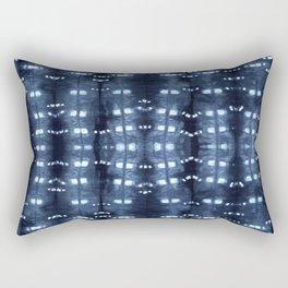 Shibori - Clothspins - Borderless - Large Rectangular Pillow