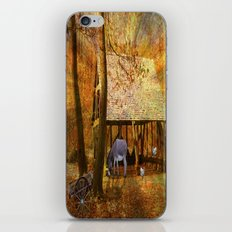 The Night Shelter. iPhone & iPod Skin