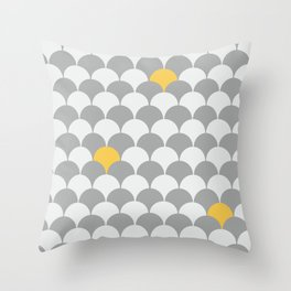 We meet in the waves Throw Pillow