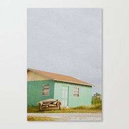 Nobody's Home. Canvas Print