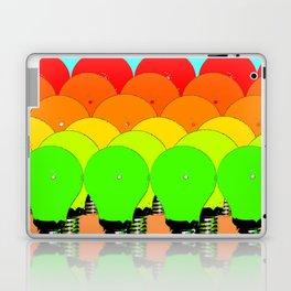 MARCH OF THE LIGHTBULBS Laptop & iPad Skin