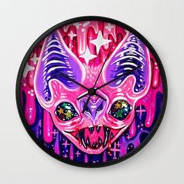 Glitterbat Wall Clock