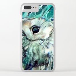 I Beseech You Goddess of the Hunt Clear iPhone Case