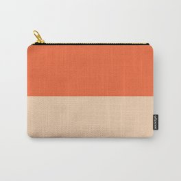 Coquelicot/Apricot Carry-All Pouch