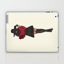 The Fashionista Fashion Illustration Laptop & iPad Skin
