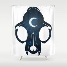 Night Skull Shower Curtain
