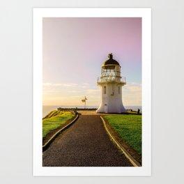 Lighthouse at the Top Art Print
