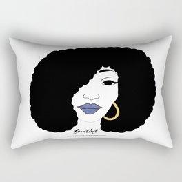 Black Girl Magic Rectangular Pillow