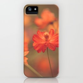 Orange II iPhone Case