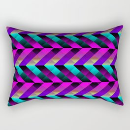 Dark Purple Rectangular Pillow