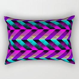Dark Purple Rectangular Pillow