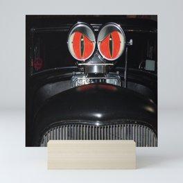 mean machine Mini Art Print