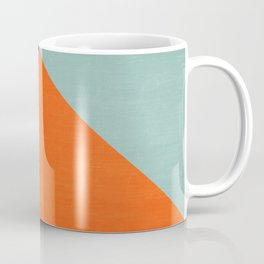 mod triangles - autumn Coffee Mug