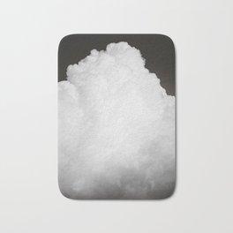 Black Clouds III Bath Mat