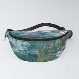 water lilies : Monet Fanny Pack