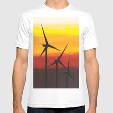 Two Windmills Mens Fitted Tee White MEDIUM