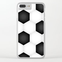 Soccer (Fooball) Ball Clear iPhone Case