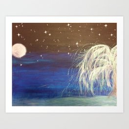 Dream Willow Art Print
